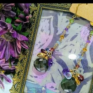 Anthropologie Jewelry - Labadorite w/ semi precious gems